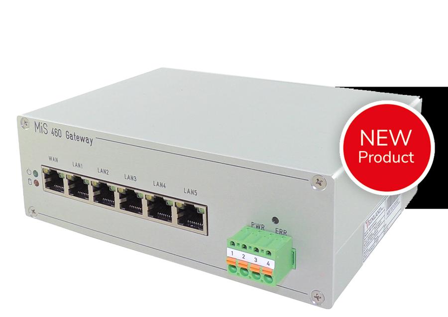 VEINLAND 460 Gateway - Cyber Security