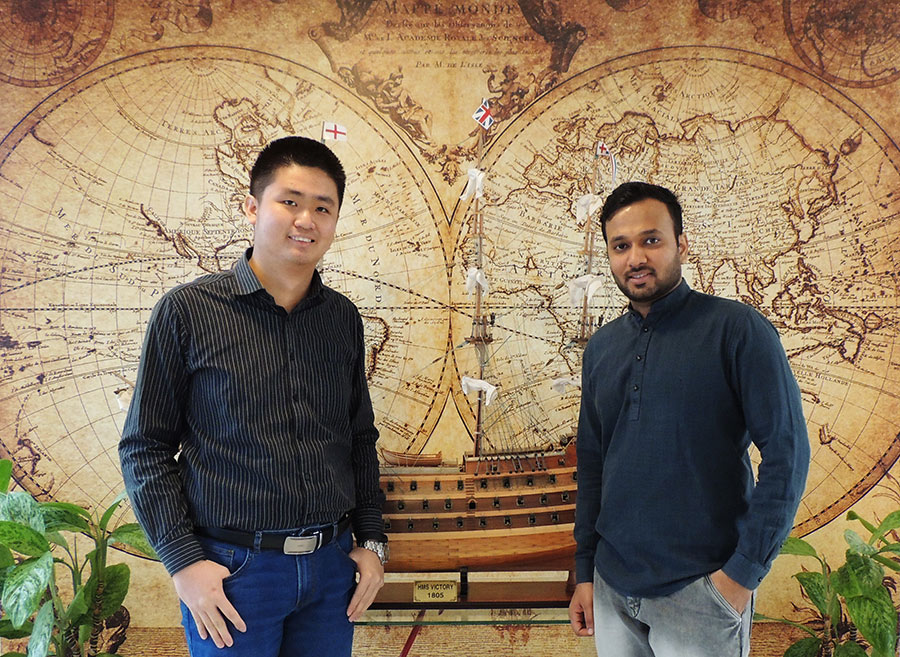 Two new Sales & Project Engineers Joining VEINLAND onboard