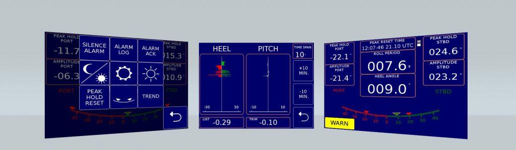 VL Inclinometer Neigungssensor für Schiffe
