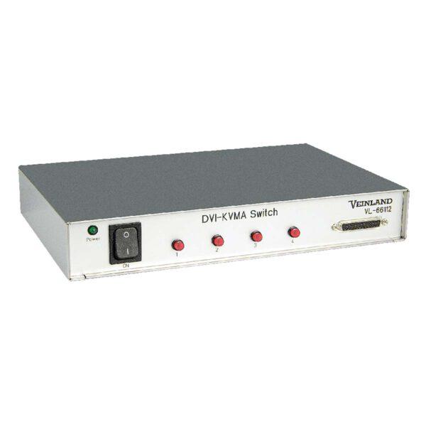 DVI-KVMA Switch 4:1