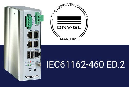 VL-Gateway 460 has received approval in accordance with IEC61162-460 ed.2.