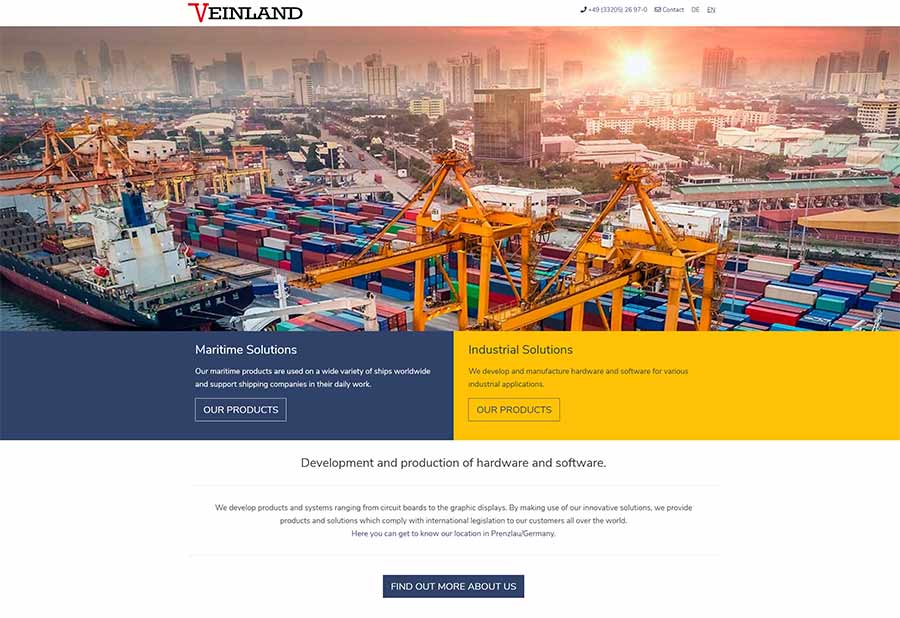 VEINLAND Relaunch