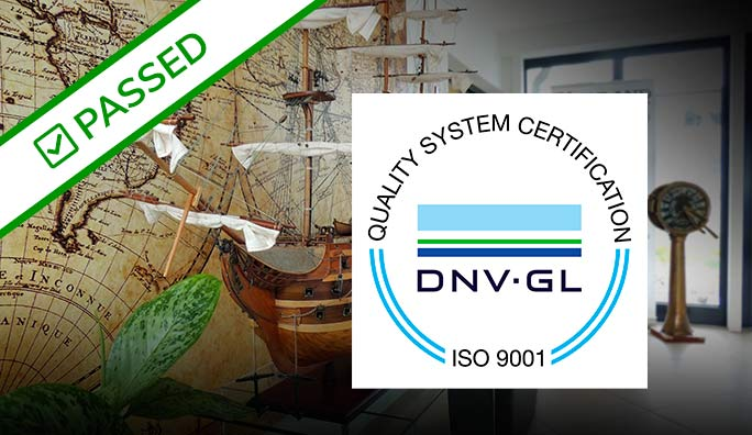 Successful ISO 9001: 2015 audit