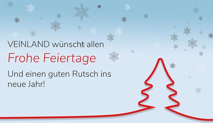 Wir wünschen Frohe Feiertage!