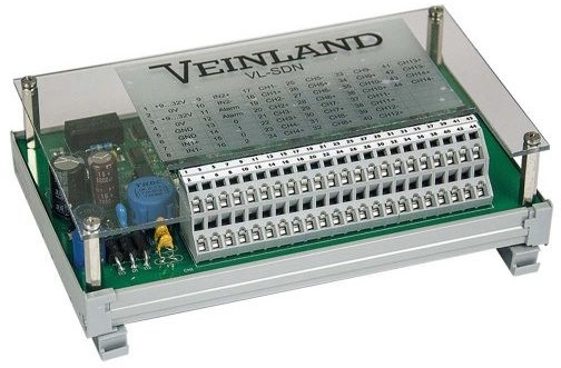 NMEA Selector for Redundant Distribution with 2 Inputs and 14 Outputs
