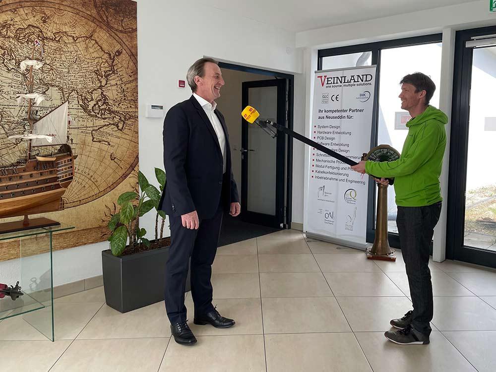 Interview mit Antenne Brandenburg